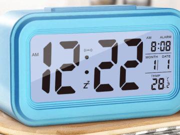 Рейтинг ТОП 5 лучших электронных часов будильников